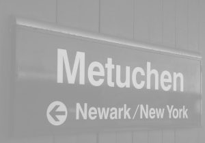 metuchen train sign
